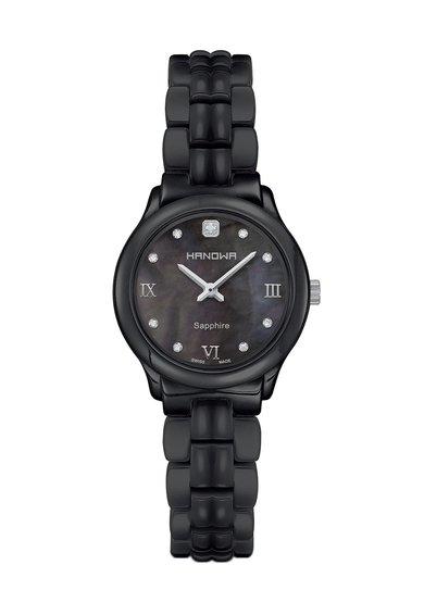 Ceas negru Gracious de la Hanowa