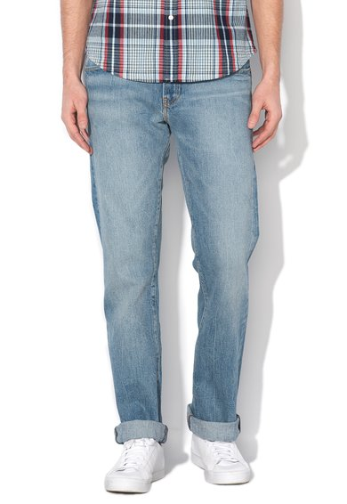 FashionDays.ro: Jeansi slim bootcut albastru inchis 527 jeansi slim fit bl Levis