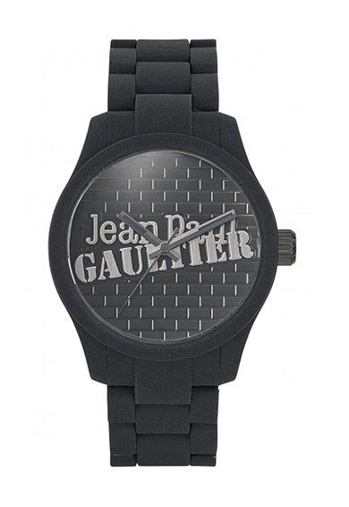 Jean Paul Gaultier Ceas negru cu design caramida Navy