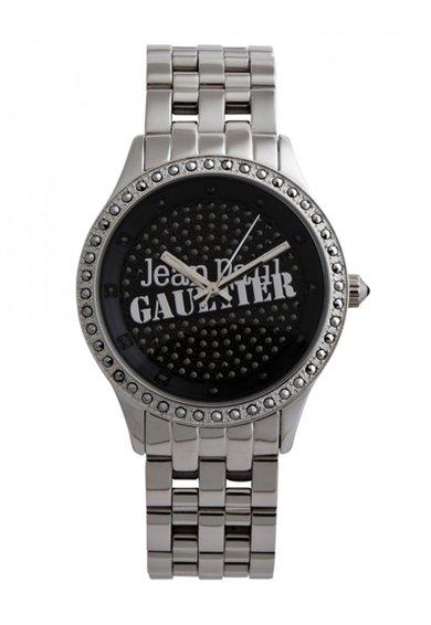 Jean Paul Gaultier Ceas argintiu cu cristale Navy Tatoo