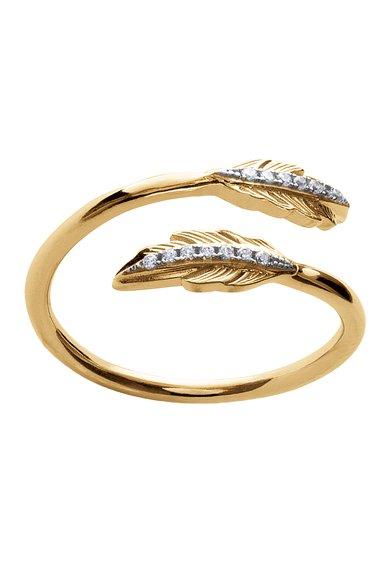 Inel placat cu aur de la LAtelier Parisien