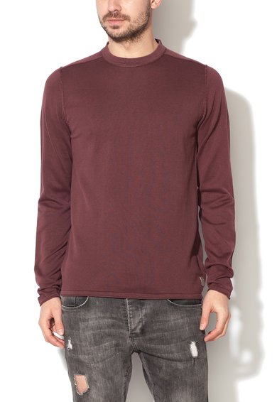 Bluza rosu marsala texturata Brayden JackJones