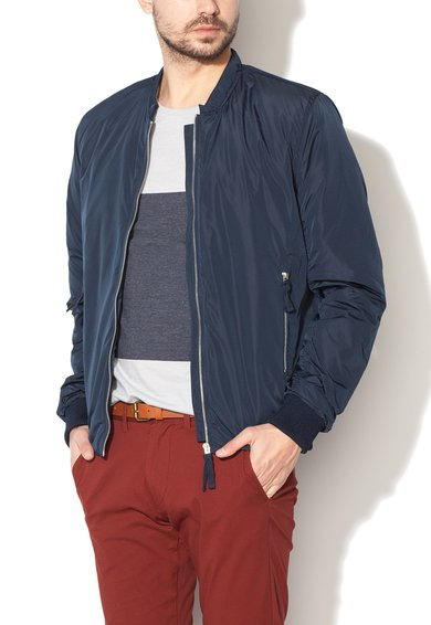 FashionDays.ro: Jacheta bomber bleumarin Tokyo Selected Homme