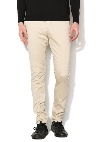 GUESS JEANS Pantaloni super skinny bej