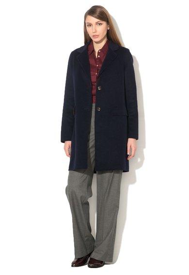 ESPRIT Haina bleumarin inchis din amestec de lana