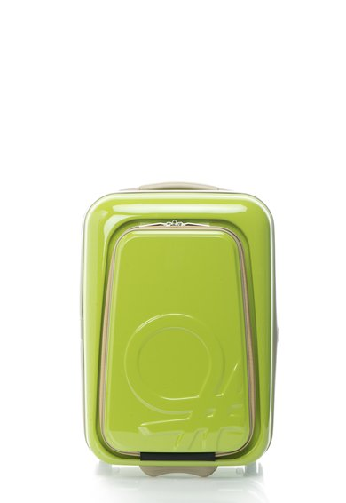 Geanta de voiaj mica verde cu buzunar frontal de la United Colors Of Benetton