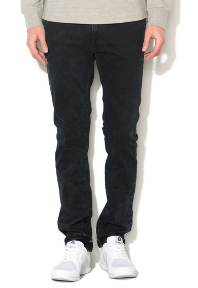 FashionDays.ro: Jeansi conici slim fit negri Martin 911 Big Star