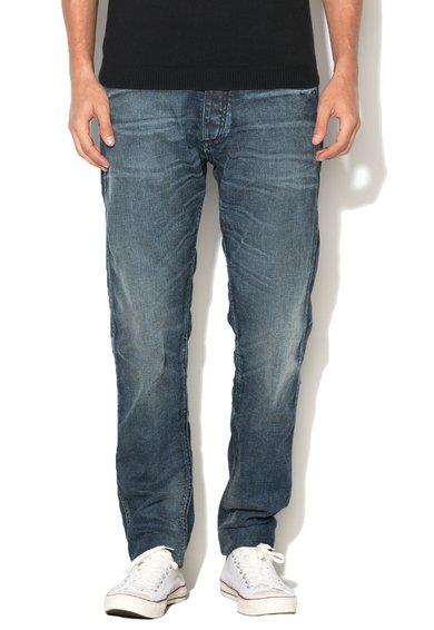 JackJones Jeansi albastri cu aspect decolorat Erik