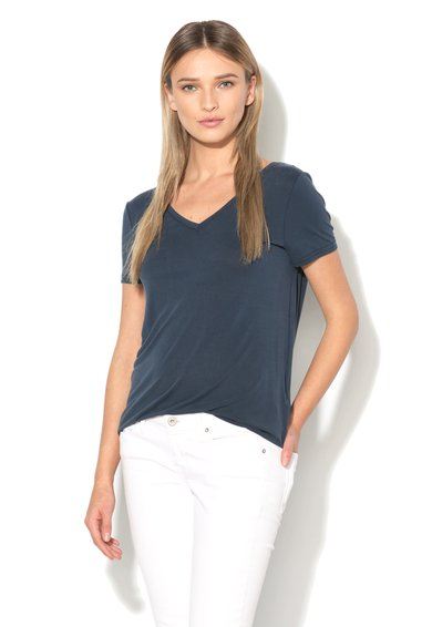 Vero Moda Tricou bleumarin cu bretele incrucisate pe spate Caralyn