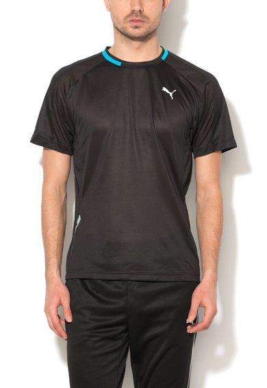 Tricou negru pentru alergare de la Puma