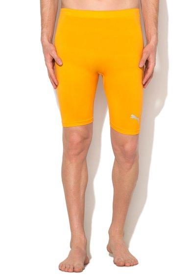 Pantaloni scurti sport oranj de la Puma