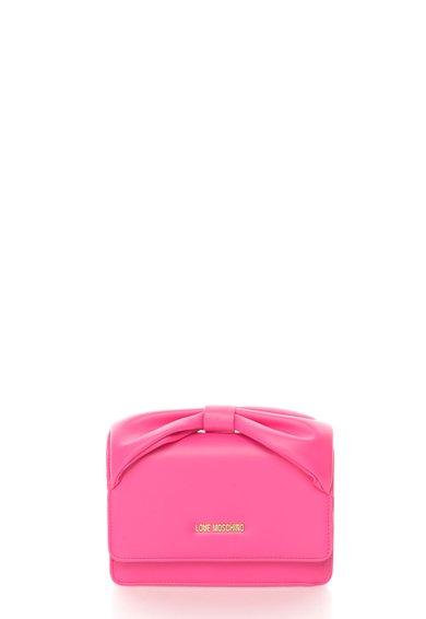 FashionDays.ro: Geanta mica roz cu maner in forma de funda Love Moschino