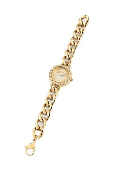 Ceas auriu cu cristale J Chain de la Just Cavalli