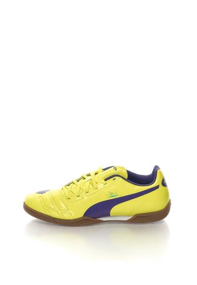 FashionDays.ro: Pantofi sport verde neon cu violet EvoPower Puma