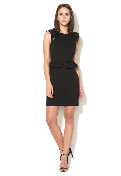Juicy Couture Rochie peplum neagra