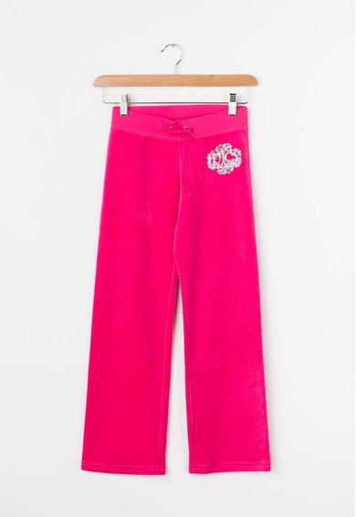FashionDays.ro: Pantaloni fucsia catifelati Juicy Couture