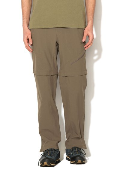 FashionDays.ro: Pantaloni convertibili maro deschis Taggart The North Face