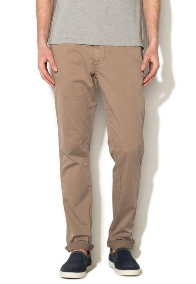 Pantaloni chino maro nisip Mana de la Napapijri