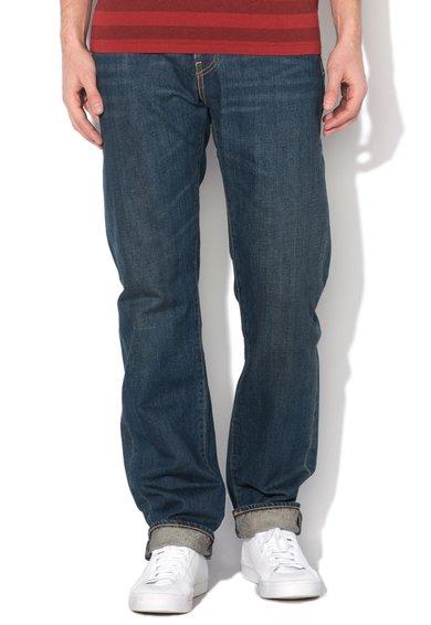 FashionDays.ro: Jeansi regular fit drepti albastru inchis 504 Levis