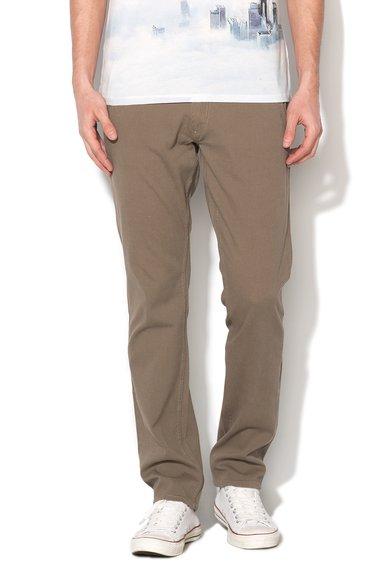 GUESS JEANS Pantaloni chino skinny verde oliv pal Myron