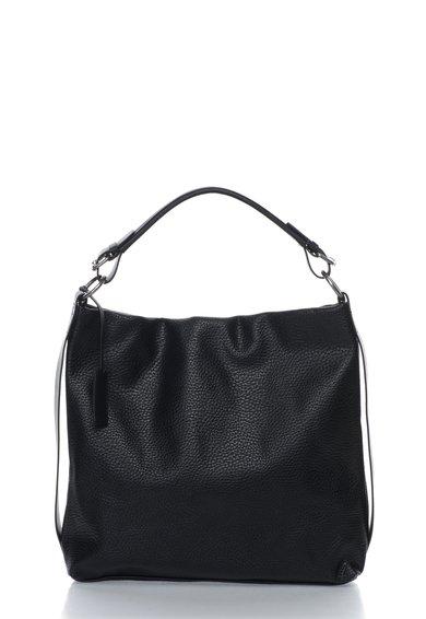 FashionDays.ro: Geanta hobo neagra cu textura granulata ESPRIT