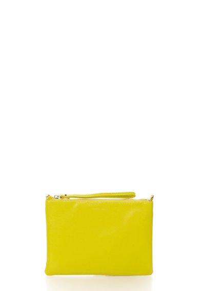 FashionDays.ro: Geanta crossbody verde chartreuse de piele COCCINELLE