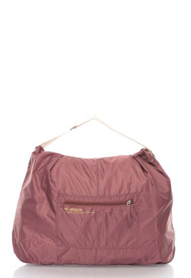 FashionDays.ro: Geanta rosu marsala prafuit din material textil Bensimon