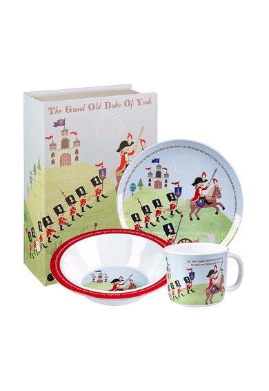 Churchill Set multicolor pentru micul dejun Grand Duke of York – 3 piese