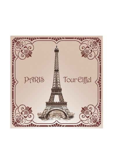 Le Blanc Set de saculeti parfumati Tour Eiffel 1900 Rose – 2 piese