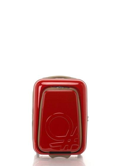 FashionDays.ro: Geanta de voiaj rosie pentru cabina United Colors Of Benetton