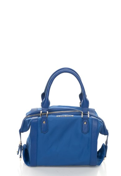 FashionDays.ro: Geanta albastru royal cu detalii aurii Tres Jolie Fornarina
