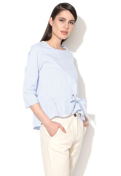 FashionDays.ro: Bluza bleu cu alb in dungi Eccelso Pennyblack