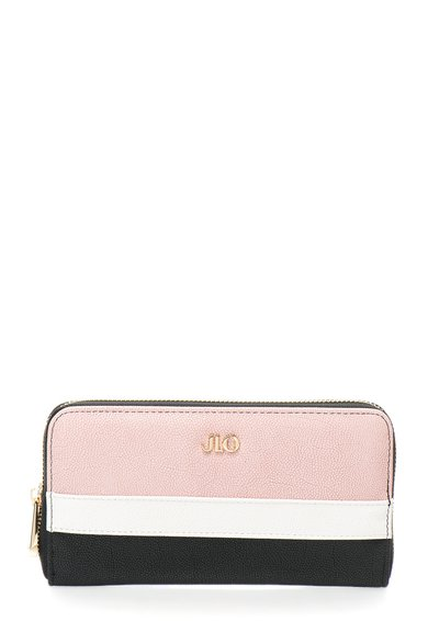 FashionDays.ro: Portofel negru cu roz JLo by Jennifer Lopez